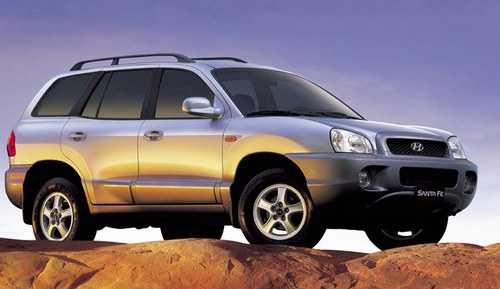 technische daten von hyundai santa fe geländewagen/suv 2001 - 2005.