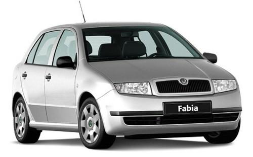 technische daten von skoda fabia kleinwagen 2000 - 2007.
